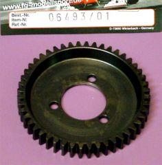 06493/01 Stahl Zahnrad 48 Zähne verbreitert für Getriebewelle