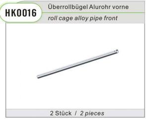 HK0016 - Überrollbügel Alurohr vorne