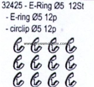 32425 E-Ringe 12 Stück in Verpackung