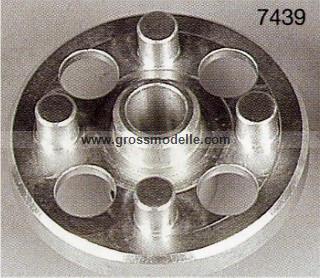 7438 Zahnradmitnehmer Alu 47 mm