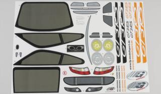5175/01 - Aufklebersatz Porsche GT3 RSR, Set