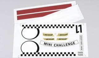 5185 - Team-Aufkleber Mini Cooper, Set