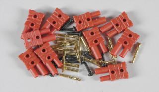 6545/01 - FG Goldkontakt-Stecksystem 2mm, 10St.