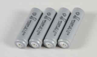 6546/04 - Akku Einzelzelle NiCd 1,2/800 mAh, 4St.