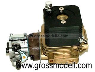 0026 Wassergekühlter Zylindersatz mit Vergaser 27 ccm