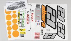 4156 - Team-Aufkleber Audi A4 DTM Albers, Set