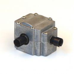 HD0025 Auminium Differenzial Außengehäuse Unterteil