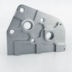 HA1001 Getriebeplatte Alu incl Lager und Schrauben