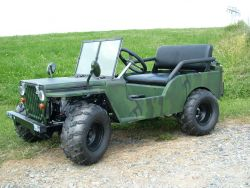 Kinder - Jeep Willys 125 ccm 7 PS