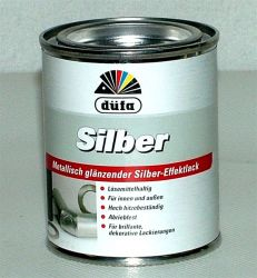Hitzebeständiger Effektlack Silber 1 Dose 125 ml