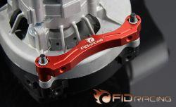 FIDXL004-1 Motorbock Halter Rot Eloxiert