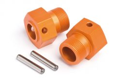 H87495 Radmitnehmer 24x27mm(orange/2St/Baja SS)