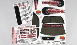 20155 Modell Aufkleber Monster Stadium Street Truck